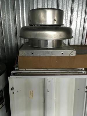 ventillateur evacuation<br/>ventillateur evacuation 3 vitesses 120 volts<br/><br/>chasis 17po x 17 po<br/><br/>250.00$
